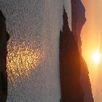 sunset from Poseidon's temple