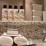 Abundance of Nice toiletries