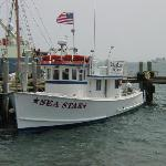This is the boat - the RV Sea Star