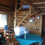 Inside of cabin 12