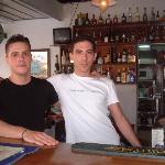 the boys behind the bar........