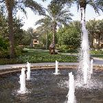 Arabian Court gardens