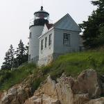 Famous Bass Harbor Lighthouse