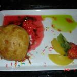 Fried ice cream from the Japanese restuarant