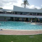 Villacana main pool and poolside restaurants