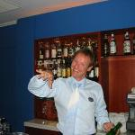 Vaios, the awesome bartender