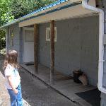 Bunkhouse back porch