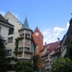 Front of Baeren Hotel Meersburg