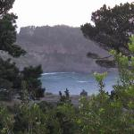 view from the BGI deck - Mendocino bay