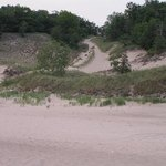One of the Indiana Dunes Hills