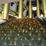 Burj Al Arab Hotel - too posh and expensive for us!!!