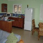 Bel Air One Bedroom Villa Kitchen Area