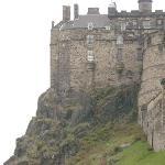 Right next to Edinburgh Castle