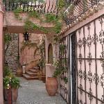 Courtyard, Villa Ducale