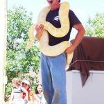The Snake Show - A Burmese Python!