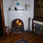 Room Interior - Fireplace