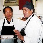 Owner Makar Rai with Tandoori Master Kipi Dahal