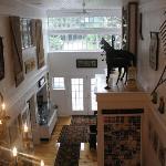 The Barns grand entrance