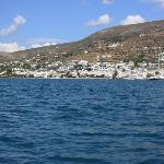 Paros from the water