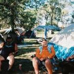 Camping at Glencoe in the Morning