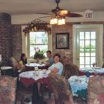 Dining room at Old Brick Inn