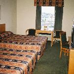 A view of the beds in Room 323