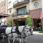 Carriage at the Inn