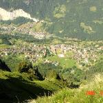 Wengen from above