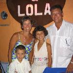 Dieste Family in Mazatlan
