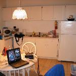 Kitchen area very spacious