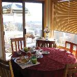 Dining Room - with the Deck outside