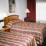 A view of the beds in Room 709