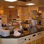 showcooking area