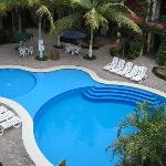 Hotel Courtyard and Pool
