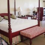 Bedroom area of Hibiscus Jr Suite