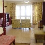 Hibiscus Jr Suite living room area
