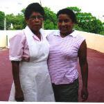 Crisanta and her daughter