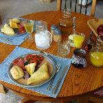 More breakfast!