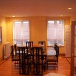 The dining room - elegant and comfortable