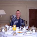 Butlers's Breakfast Delivered To Suite