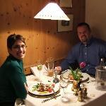 Our gourmet dinner at Ruebezahl.