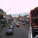 Top of The Shankill from a bus