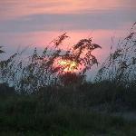 Sunset on Tybee Beach