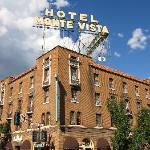 The Hotel Monte Vista in downtown Flagstaff..