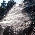 Hike to the Arethusa Falls in nearby national forest