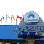 Paramount's Wonderland is 45 minutes from the hotel