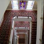 a walk down the staircase