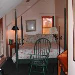 Mary Atkins Room - very small but very comfortable!