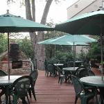 Patio - Great for sitting and enjoying life