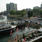 Holiday Inn - Waterfront - Kingston - view from harborside room